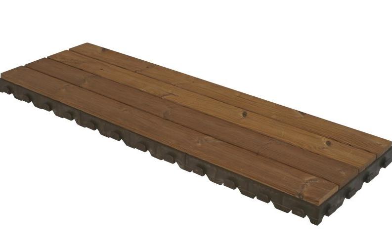 Passerelle da spiaggia roma pedane in legno passatoie - Pedana da giardino ...